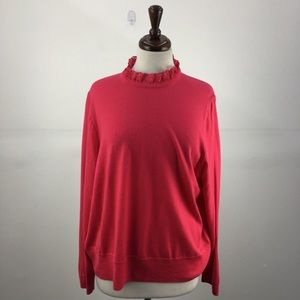 NWT J. Crew Pink Long Sleeved Top